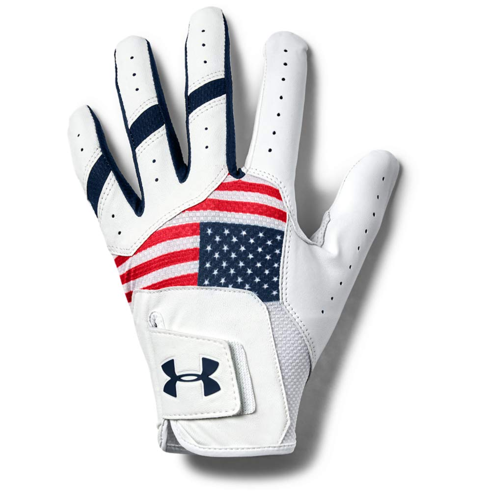 Under Armour Men's UA Iso-Chill Golf Glove, Red
