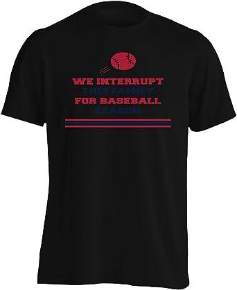 Wood Sign - We Interrupt this family for Baseball Season