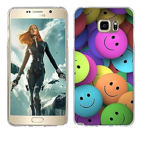 Funda Samsung Galaxy Note 5, Fubaoda [volti sorridenti ...