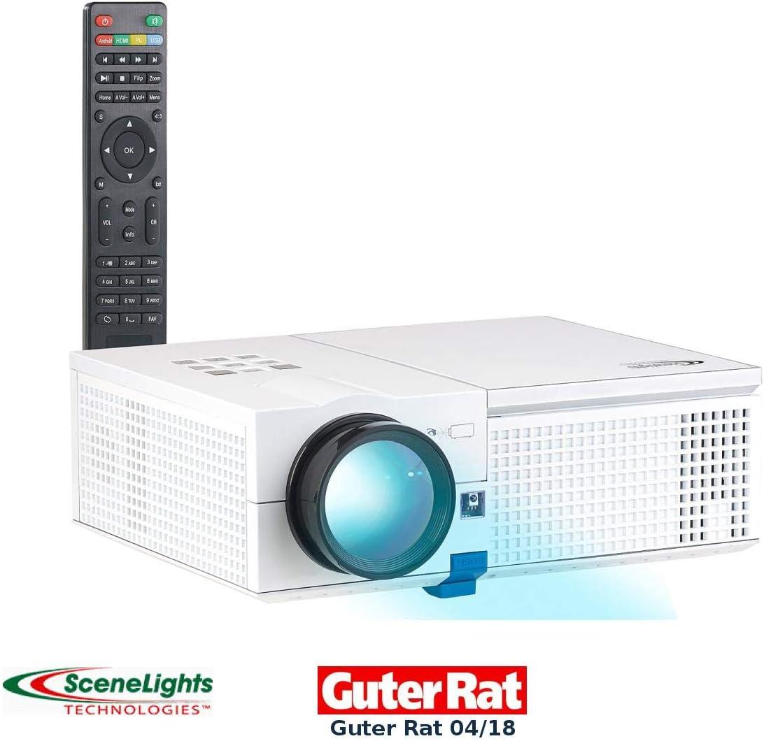 Scene Lights proyector de video: LCD de proyector LED con ...