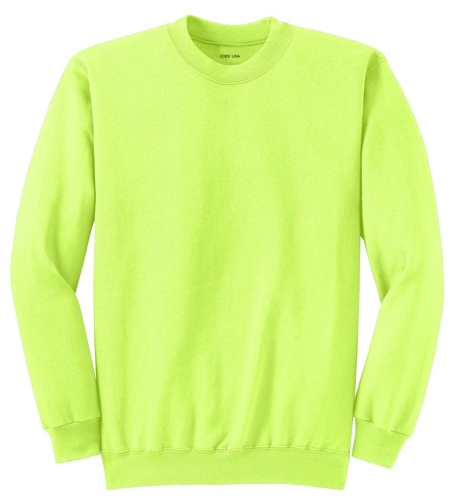 Youth Soft and Cozy Crewneck Sweatshirts in 22 Colors. Sizes Youth XS-XL USALSS42638
