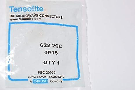 Amazon.com: Tensolite 622-2CC R/F - Conector para microondas ...