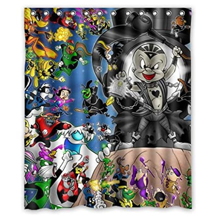Image Unavailable Not Available For Color Hot Sale Looney Tunes Characters Custom Shower Curtain