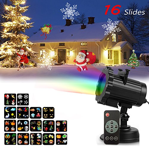 Outdoor Led Projector Christmas Lights - 8