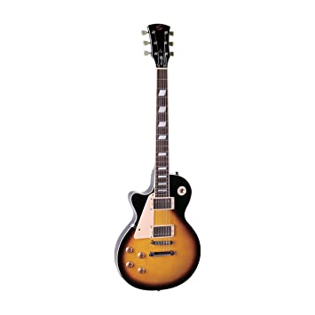 Soundsation - Guitarra eléctrica para zurdos Cutaway con 2 pastillas Humbucker, puente Tune o Matic y Top de arce: Amazon.es: Instrumentos musicales