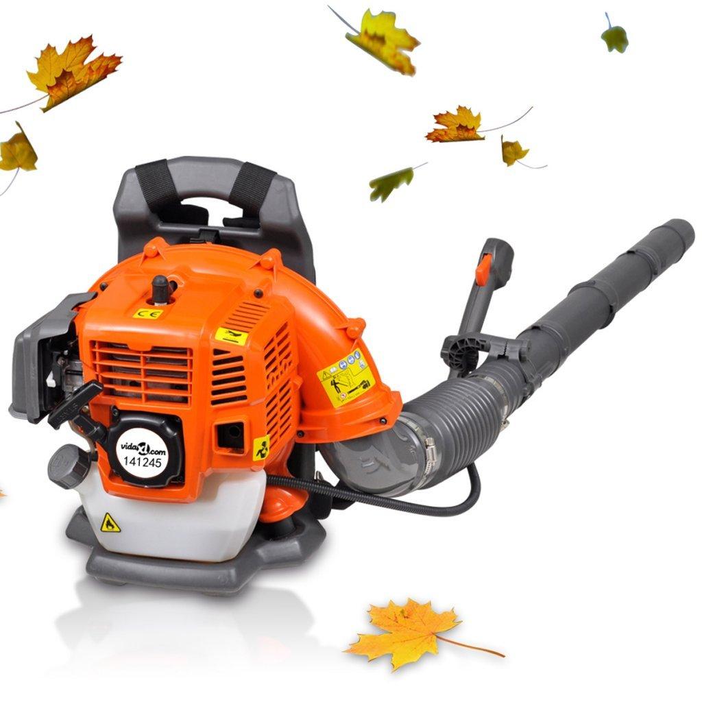 Anself 42,7 cc Petrol Backpack Leaf Blower Vacuum 900 m³/h