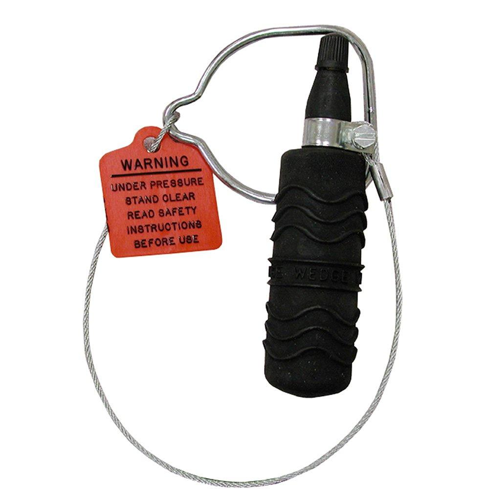Jones Stephens, JS 6'' Regular Pneumatic Test Plug, 25 PSI Max Air, 5 PSI Max Test, 30' Max Head - T45600 by Jones Stephens (Image #1)