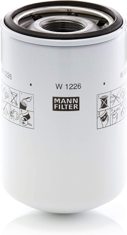 Mann Filter W 1226 Hydraulic Filter Mann Filter Auto