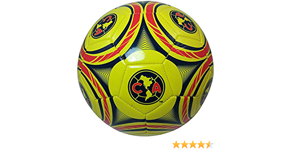 RHINOXGROUP CA Club America Authentic Official Licensed Soccer Ball Size 5-004