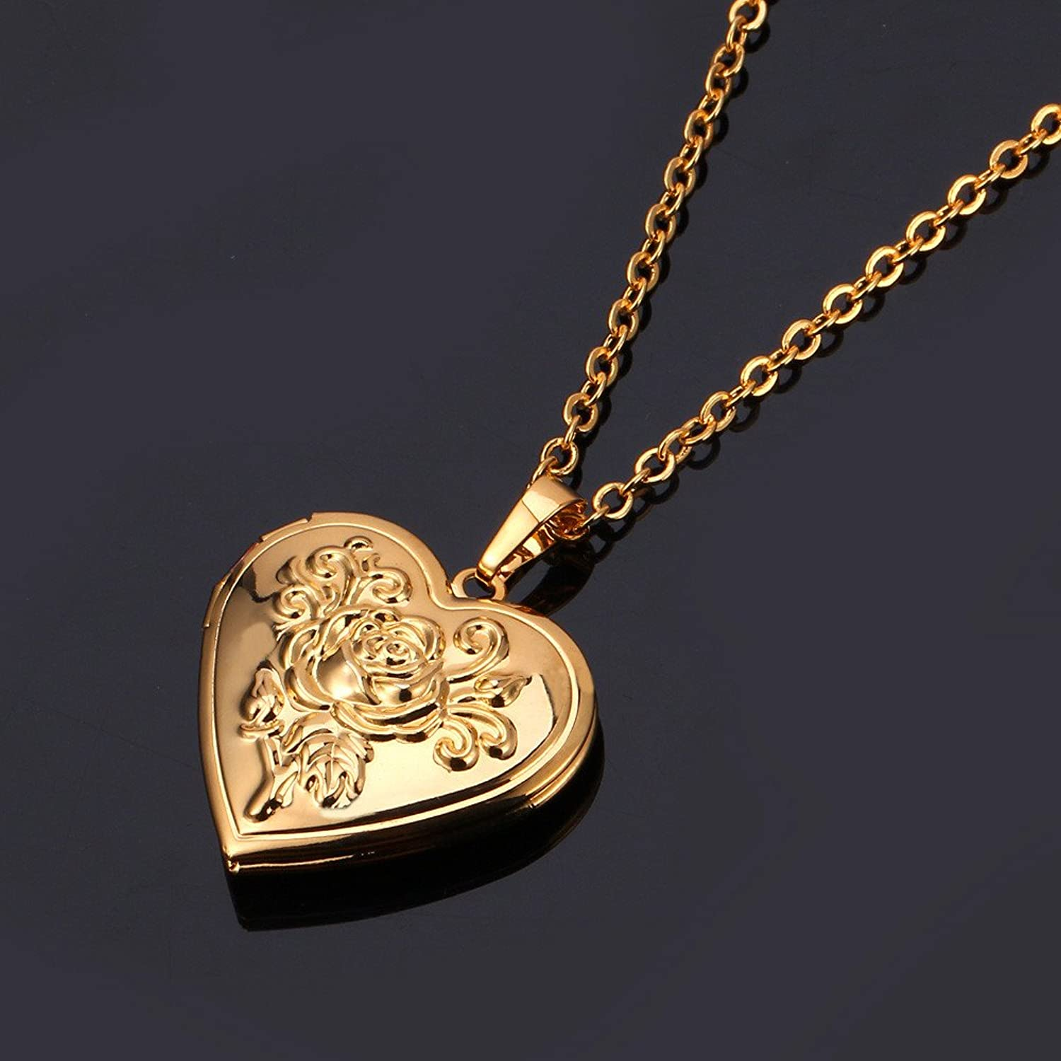 living locket lockets com animal amazon necklace pzzvtlfl plated love memory heart paw dp rose jewelry pendant print dog cute gold