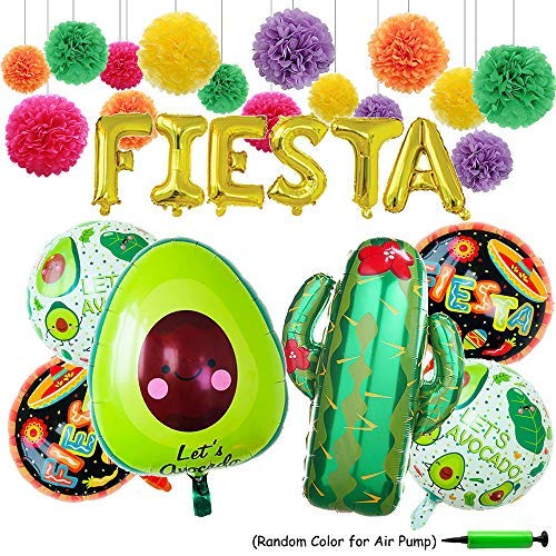 FIESTA Party Foil Ballons, 24