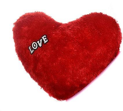 Uxos Pack of 2 Red Heart Pillow