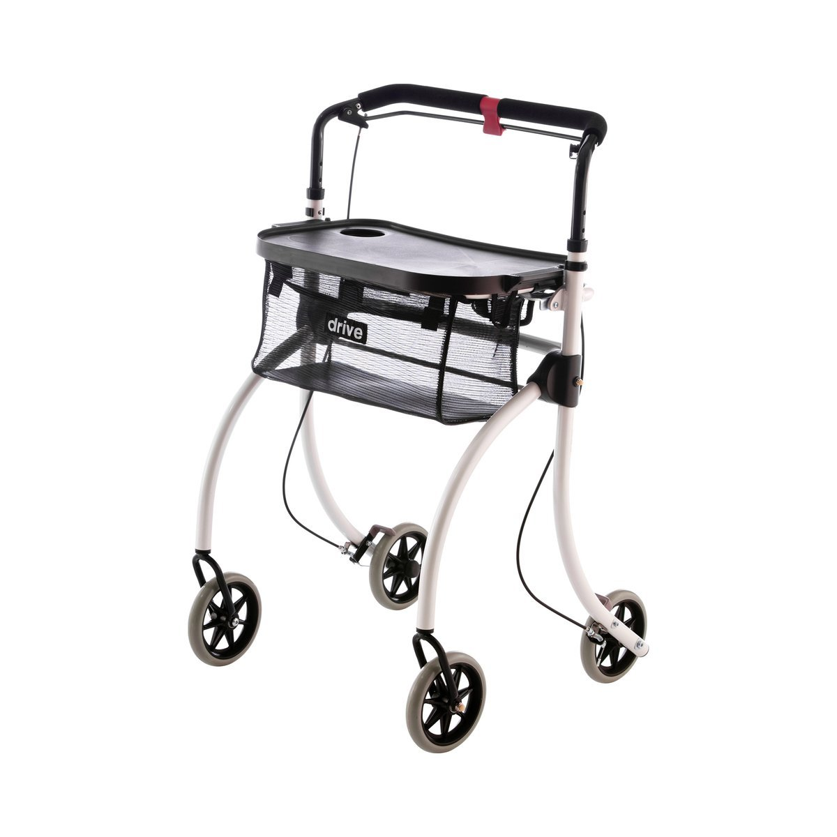 Drive Medical Indoor Rollator Roomba, weiß von Drive Medical