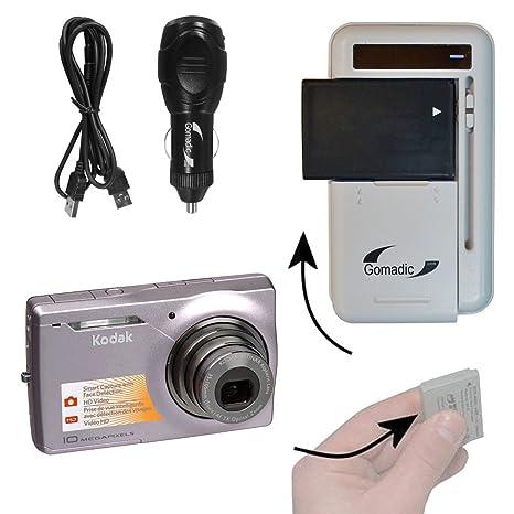 amazon com battery charger kit compatible with kodak easyshare rh amazon com Kodak M1033 Instruction Manual Kodak M1033 Charge with USB