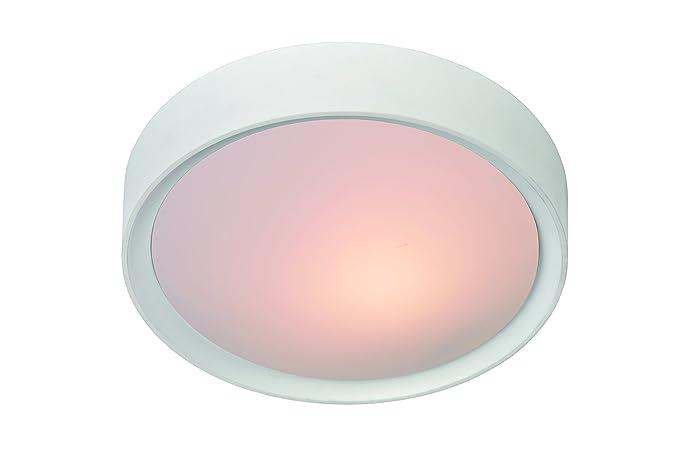 Plafoniere Con Lampade Led E27 : Lucide lex plafoniera per lampadine con attacco