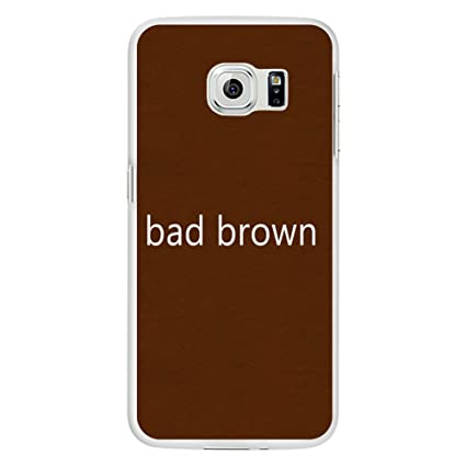Amazon.com: EUNOMIA Simple Bad Brown Hard PC Clear Soft ...