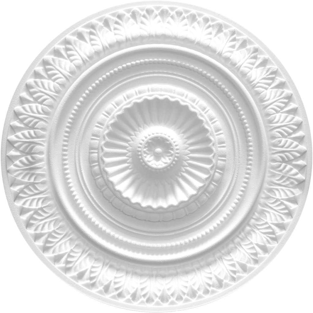 R-14 1 Rosette Plafond D/écoration Int/érieur Modelage Eps D/écoration Tous Mod/èles /Ø 34cm