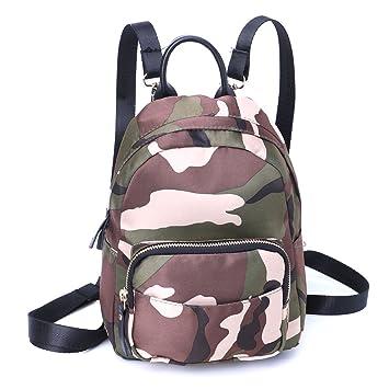 Amazon.com: jagenie Mujer Mini mochila bolsa de hombro ...