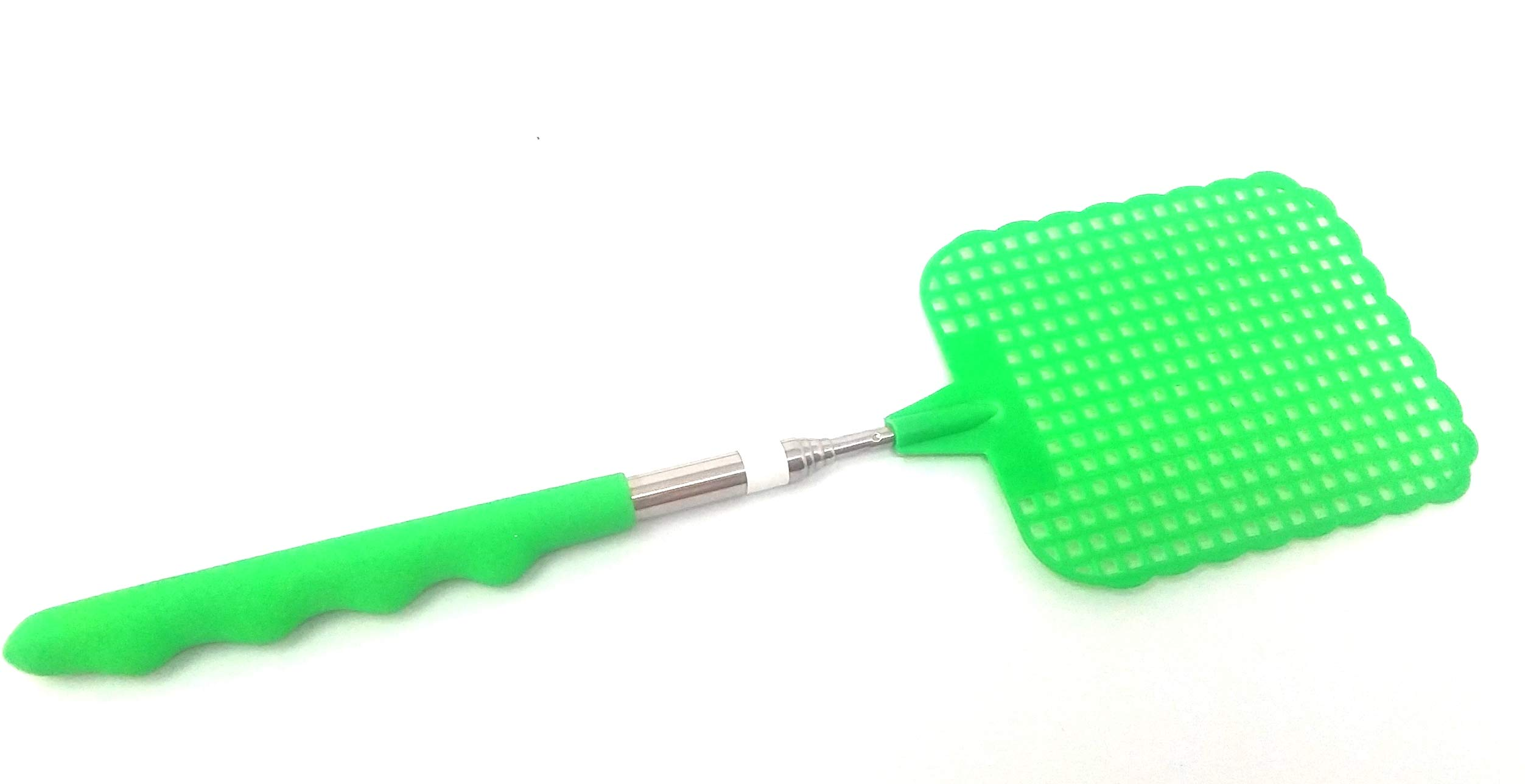 Chachlili 48 Extendable Compact Fly Swatters Telescopic Retractable Fly Swatter Easy to Store, Comfort Grip. Effective Wholesale Bulk LOT