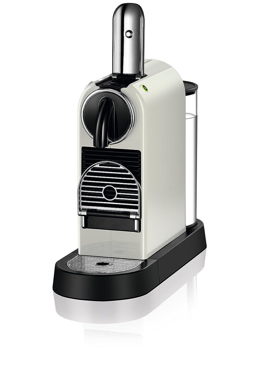 Nespresso DeLonghi Citiz - Cafetera monodosis, 19 bares, flow-stop, rejilla adaptable para vaso macchiato, modo ahorro energía, color blanco: Amazon.es: ...