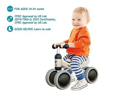 Amazon.com: Mingzheng - Bicicleta de equilibrio para bebé ...