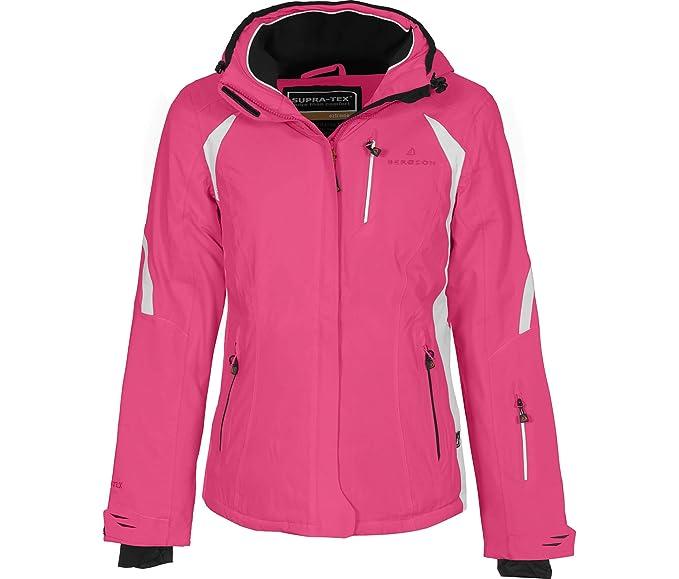 100% echt riesige Auswahl an eine große Auswahl an Modellen Bergson Damen Skijacke SNOWTASTIC - wasserdicht, winddicht, atmungsaktiv,  warm, Wassersäule: 20000 mm, Atmungsaktivität: 20000 g/qm/24Std.