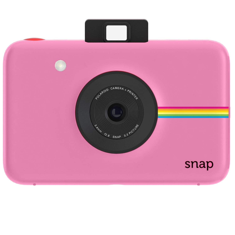 401de686a1912 Amazon.com   Polaroid Snap Instant Digital Camera (Pink) with ZINK Zero Ink  Printing Technology   Camera   Photo