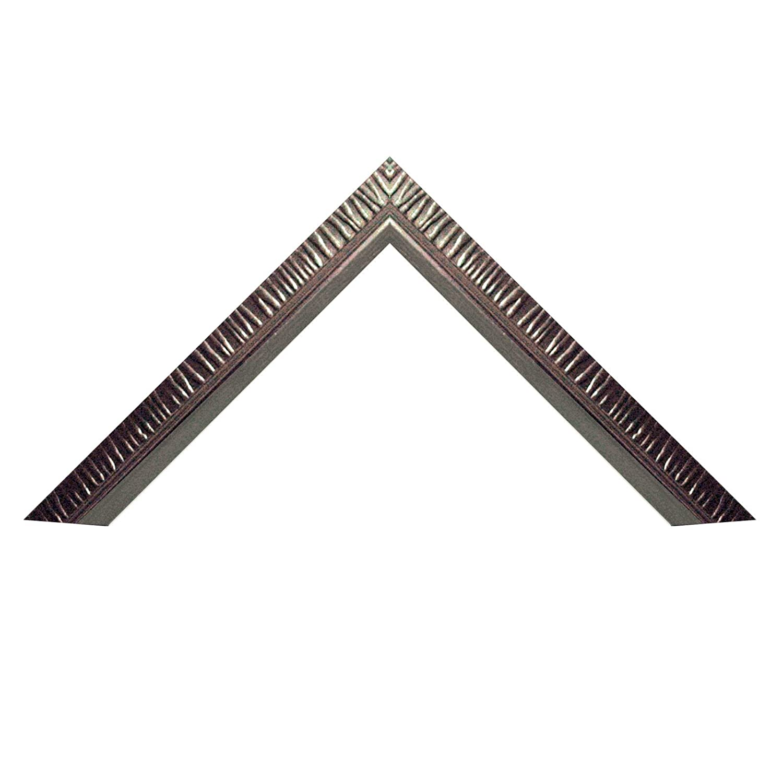 Amazon.com - Neumann Bilderrahmen Plastic Frame Art Elegance, Size 28x35 cm, Silver matt -