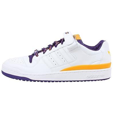 cb9228ffa adidas Select Men s Forum Lo (Lakers) Sneaker