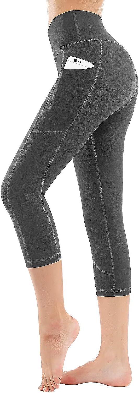HOFI High Waist Yoga Pants for Women Side /& Inner Pockets with Tummy Control Sports Leggings