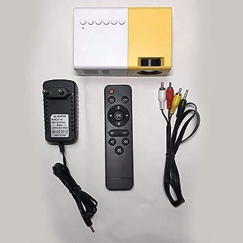 Yunn HoneybeeLY Mini Proyector, J9 2500 Lúmenes LED Portátil ...