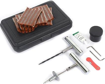 GOTOTOP 37pcs Kit de DIY Herramienta de Reparación de Pinchazos de ...