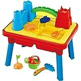 Table de jeu 2 en 1 pour sable/eau - enfant - nombreux accessoires