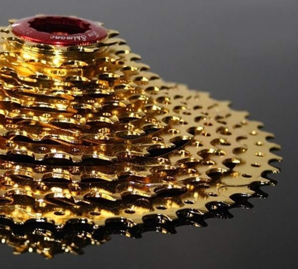 11-42 Kassette 11 Fach für Shimano - m-bikeparts Gold Star.