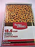 Better Homes and Gardens 18.6 Cup Flip-Tite Rectangle Container