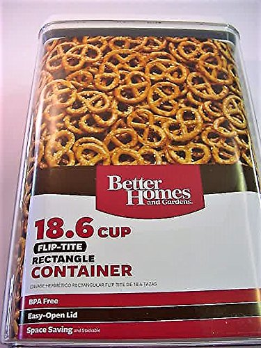 Better Homes and Gardens 18.6 Cup Flip-Tite Rectangle Container by Better Homes & Gardens