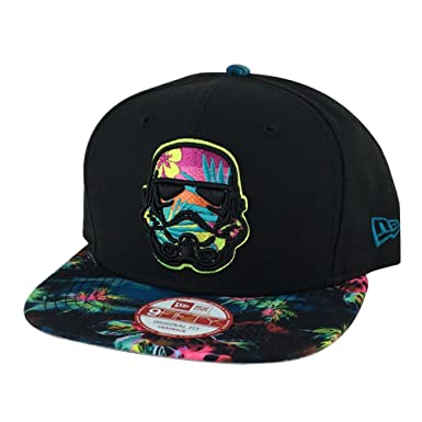 New Era Floral Storm Trooper Neon Snapback Cap 9fifty 950 Basecap Star Wars 5aca171f820