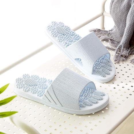 El Bano Azul.Renshenx Ducha Masaje Suela Sandalia Sandalias Plasticas De