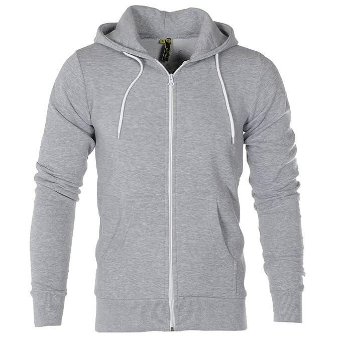 Sudadera con capucha de Raiken®, prendas de vestir flexibles, de forro polar con