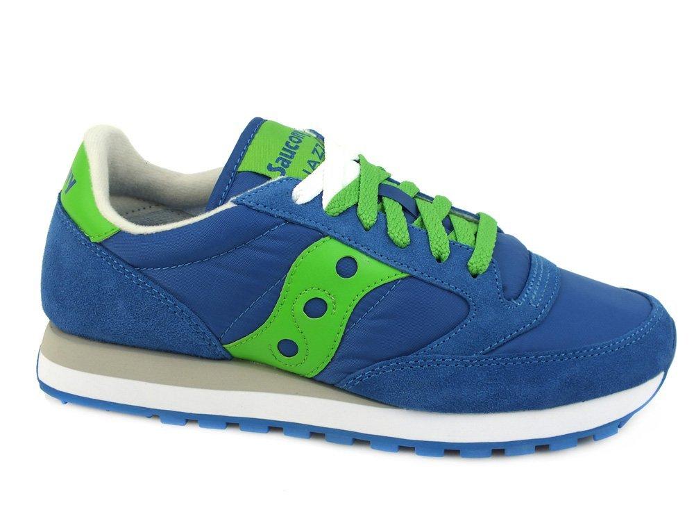 SAUCONY scarpe SNEAKER UOMO 2044-421 BLUE-GREEN AI17 40 EU Blue / Green