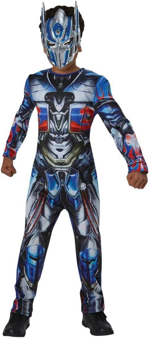 Transformers - Disfraz Optimus Prime, 8-10 años (Rubie'S Spain 630995-L)