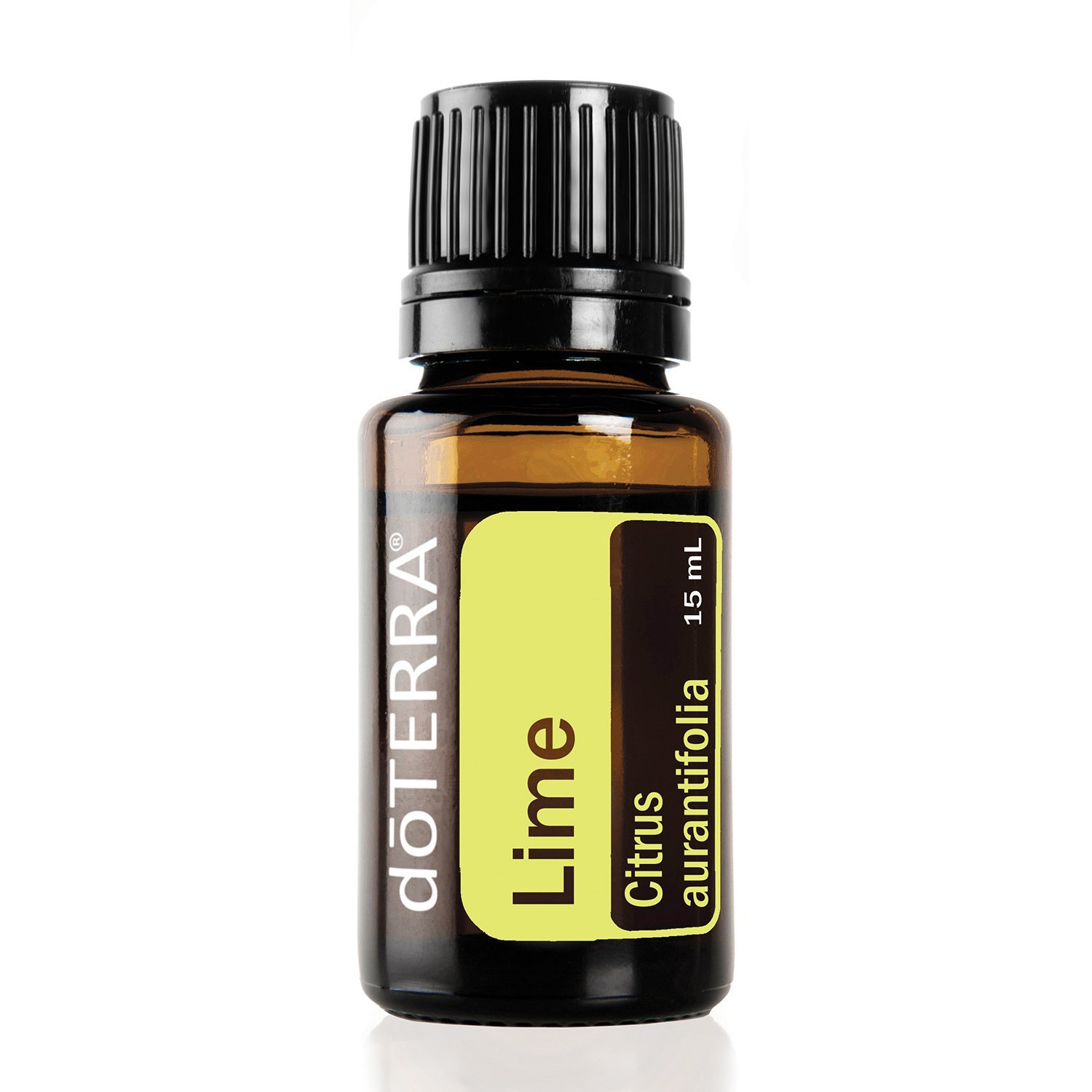 doTERRA - Lime Essential Oil - Supports Healthy Immune Function, Promotes Mood, Emotional Balance, Well-Being, Aromatic, Topical, and Internal Cleanser; For Diffusion, Internal, or Topical Use - 15 ml