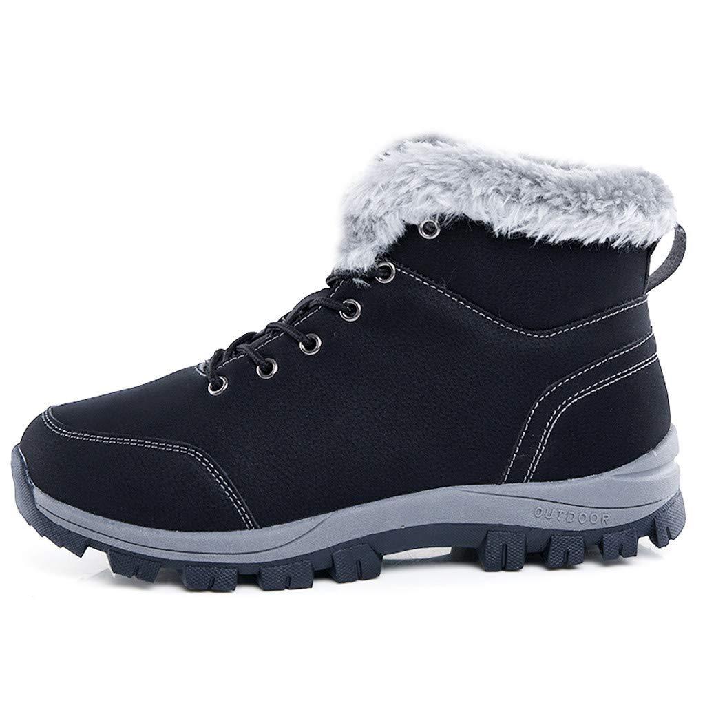 44db64bcae1 Amazon.com : chenJBO Men's Winter Boots, Outdoor Mountaineering ...