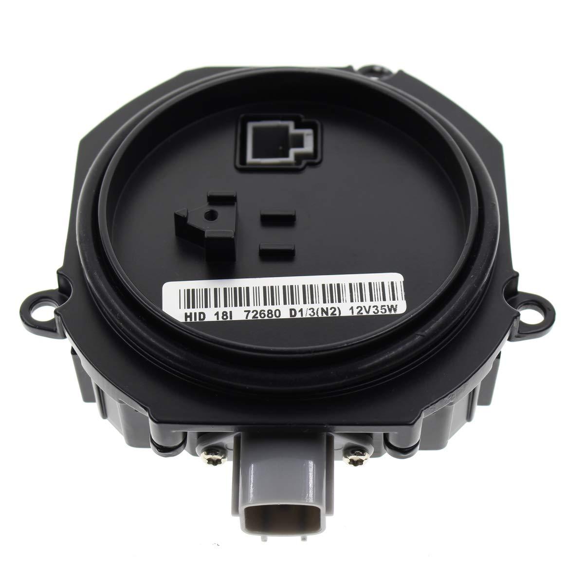 MOTOALL HID Xenon Headlight Ballast Control Unit Module for D2R D2S Bulb Nissan Infiniti Mazda Saab 28474-89904 28474-89907 28474-8991A 28474-89915 Matsushita NZMNS111LANA NZMNS111LBNA NZMNS111LANH