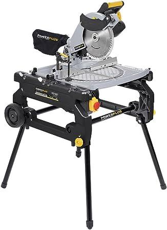POWERPLUS POWX07587 - Ingletadora/sierra de mesa 2000w 254mm 2 en ...