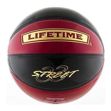 インドア・アウトドア兼用 (Lifetime) レッド×ブラック ボール 3on3 ライフタイム バスケットボール SBB-ST 7号
