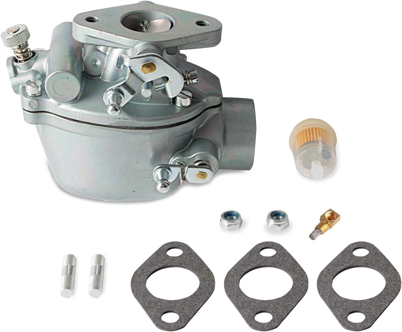 Carburetor Carb Compatible with Ford 2N 8N 9N Tractor, Replaces 8N9510C, 9N9510A, B3NN9510A, TSX241A, TSX241B, TSX241C, TSX33: Automotive