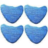 Deals2u365(™) Microfibre Velcro Replacement Washable Cleaning Mop Pads For Vax Steam Cleaner Mops – (Type 1 - Pack of 4)