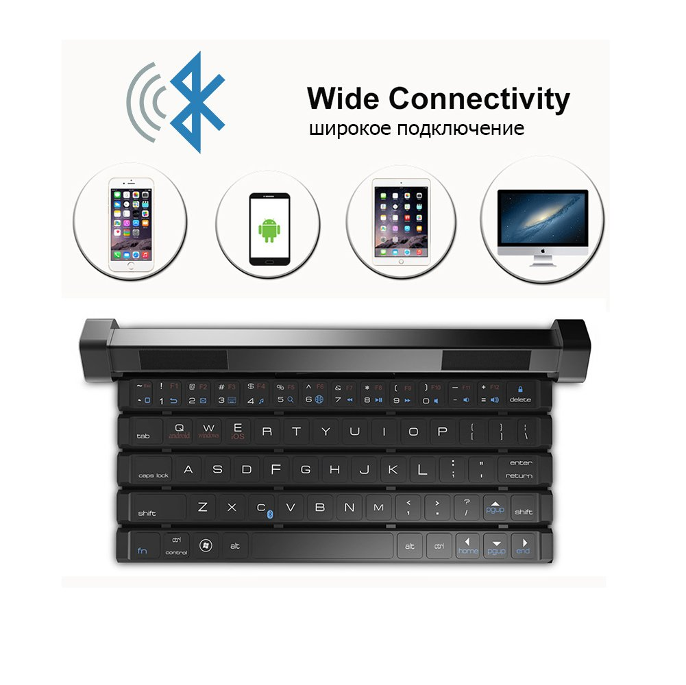 HOIHO Portable speaker/bluetooth keyboard speaker portable bluetooth wireless smart speaker keyboard bluetooth for mobile phones by HOIHO (Image #2)