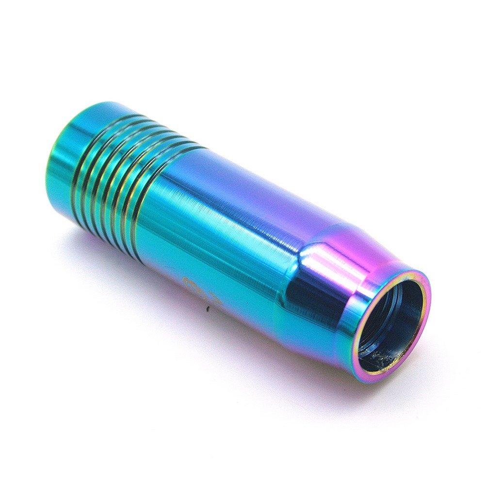 Waterwood?Autozubeh?r klein bemessenen JDM Style-Aluminium-Schaltknauf-Neo Chorme ESWW20160418A303